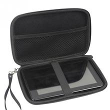 7 дюймов Сумка gps автомобильный навигатор Противоударная сумка для хранения с ремешком прочные Черные Аксессуары из ЭВА для Garmin Drive Smart 61