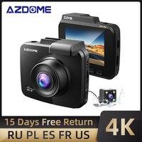 Aggiornato AZDOME GS63H Dash Cam 4K Costruito in WiFi GPS Per Auto Cruscotto della Macchina Fotografica del Registratore con UHD 2160P, 2.4