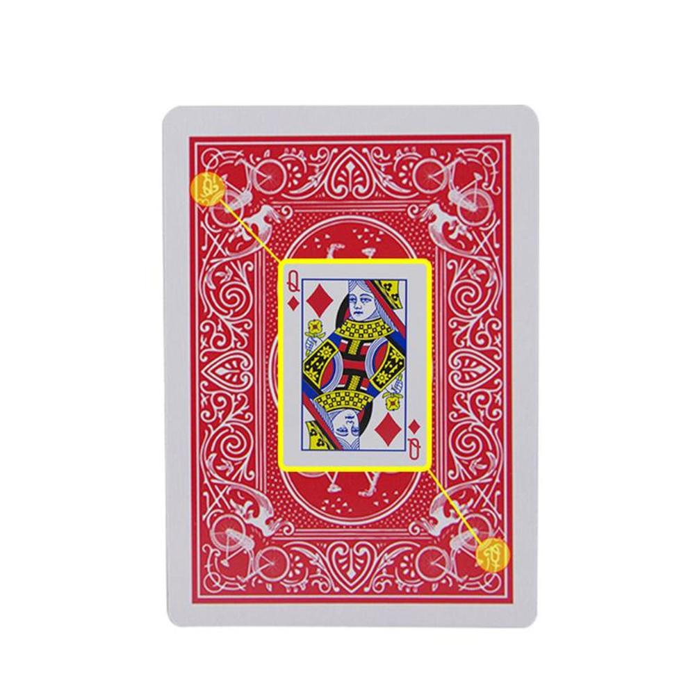 New Secret Marked Poker Cards See Through Playing Cards Magic Toys Simple But Unexpected Magic Tricks Stripper Deck Poker  2019