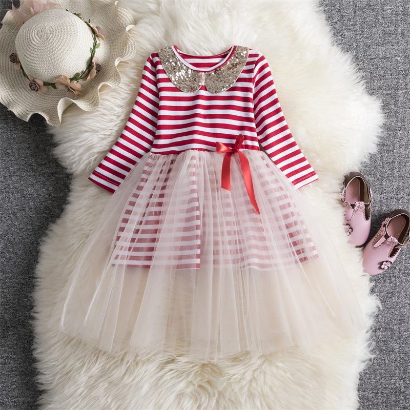 H47ca58888a9c4861946752cf6c1d84b0H Xmas Winter Autumn Girl Dress Children Clothes Kids Dresses For Girls Party Dress Long Sleeve Knitted Sweater Toddler Girl Dress