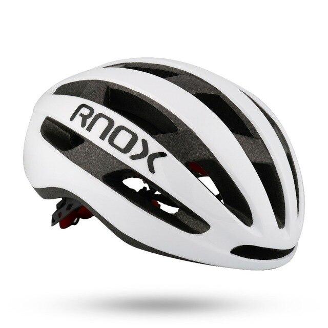 Rnox aero bicicleta de segurança ultraleve estrada capacete vermelho mtb ciclismo capacete da cidade ao ar livre montanha esportes boné casco 6