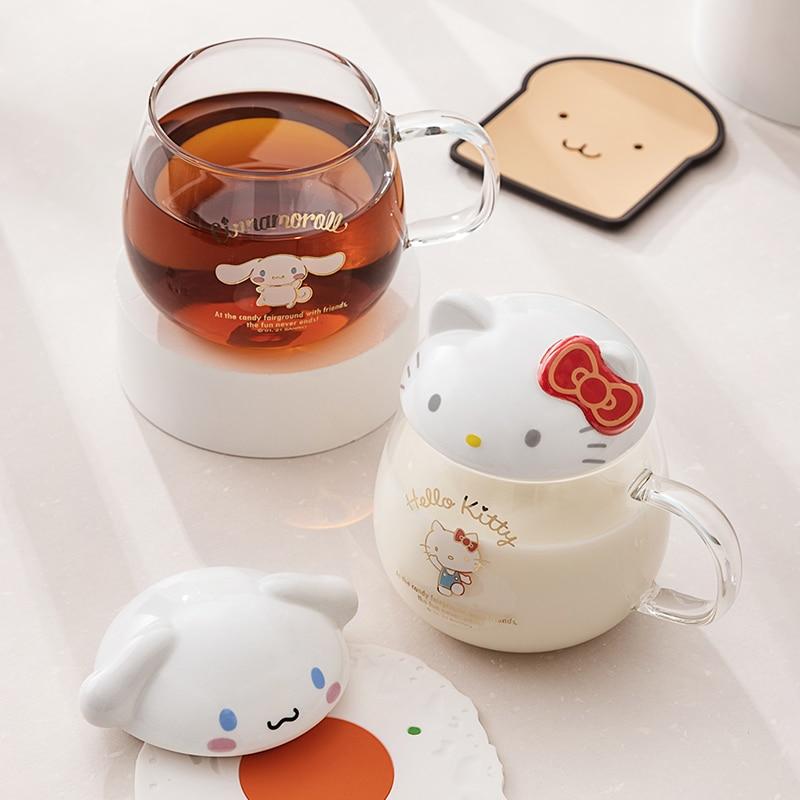 Kawaii Hello Kitty & Cinnamoroll Glass 2
