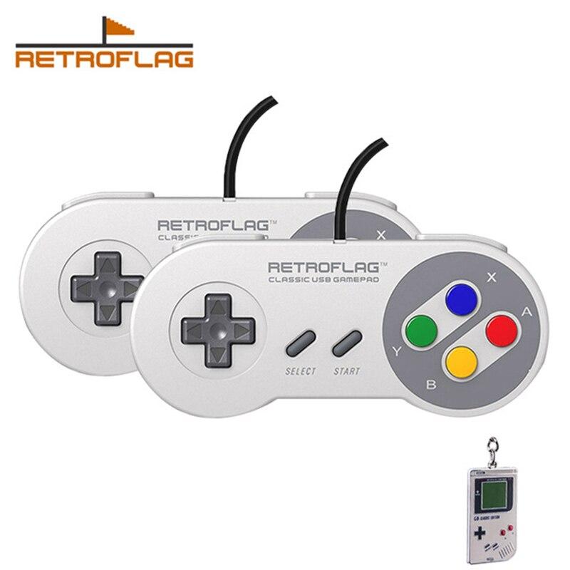 Retroflag Classic USB Wired Controller-J Gamepad for Raspberry Pi Windows Switch