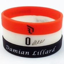 Damian Lillard basketball star sport silicone bracelet wristband free shipping
