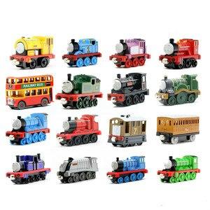 Image 1 - نموذج تعليمي معدني جديد للقطارات المغناطيسية لعبة سيارة صغيرة مناسبة لأعياد الميلاد هدايا ستيفن وينستون للأطفال