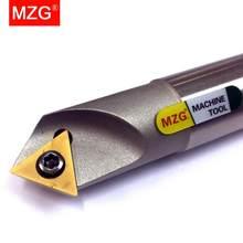MZG SSPC SSKC 20MM de acero de tungsteno de tornillo CNC fresadora de torno máquina de pinza de herramientas de achaflanado