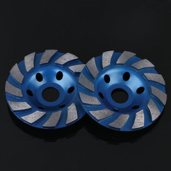 цена на 1pc 100mm*16mm Concrete Grinder Disc Diamond Bowl Cup Grinding Wheel Concrete Masonry Granite Stone Tool Metal Processing