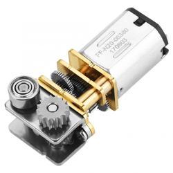 Прямоугольный металлический Шестеренчатый микро-редуктор N20 для ручки 3d-печати, постоянный ток, 12 В постоянного тока, 11 об/мин