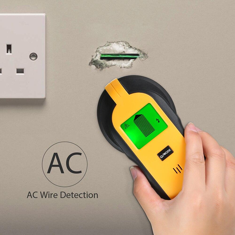 Металлоискатель 4 в 1, профессиональный электронный детектор скрытого кабеля, металлоискатель, настенный сканер, ручной настенный искатель|Промышленные металлодетекторы|   | АлиЭкспресс