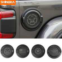Крышки бака shineka для jeep wrangler jl 2019 unlimited 2 4