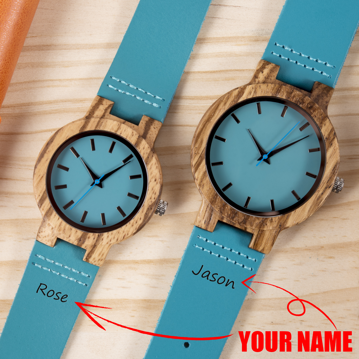 Couple Watch BOBO BIRD парные часы Personalized Wooden Watch Men Women Quartz Watches Valentine's Day Anniversary Gift For Him