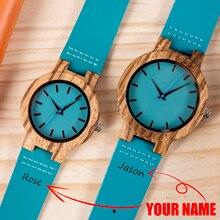 Couple Watch BOBO BIRD парные часы Personalized Wooden Watch