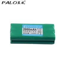 цена на PALO new type of battery 14.4V Ni-MH 2000 mAh Robot vacuum cleaner rechargeable battery for liberoV-M600 / M606 v-botT270 / 271