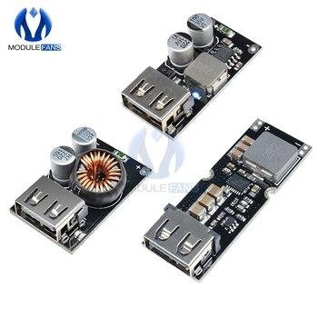 QC3.0 QC2.0 USB DC-DC przetwornica ładowania moduł obniżający 6 V-32 V 9V 12V 24V do szybka ładowarka płytki drukowanej 3V 5V 12V