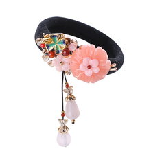 Personalized Ethnic Hair Rings Women Handmade Retro Ropes China  Accessories crude flexibility Head Ornaments