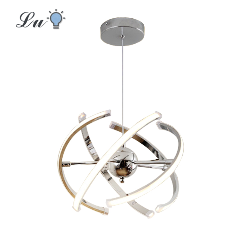 Adjustable LED Ball Pendant Lights Lustre Living Room Bedroom Indoor Decor Lighting Pendant Lamp Restaurant Fixture Hanging La image