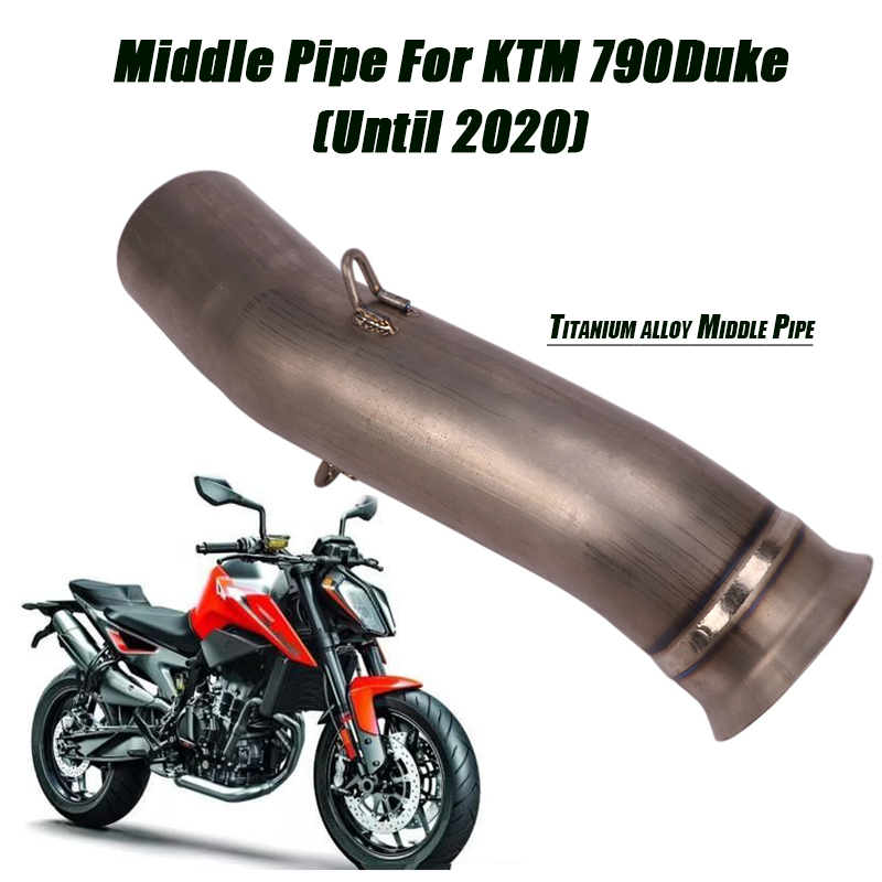 Silp on для ktm 790duke трубы средней длины из титанового сплава