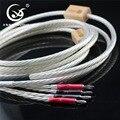 XSSH 2 5 метров 2 5 метров б/у Hi-end 2 5 м ODIN Nordost серебро 16AWG x 6 кабель для динамика банан штекер шнур  кабель  провод