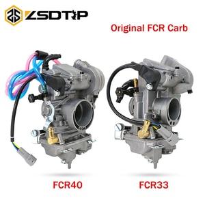 Image 1 - ZSDTRP Keihin FCR 33mm 38mm 40mm Original FCR33 FCR38 FCR40 Carburetor for  Honda CRF150R CRF250 CRF450 XR250