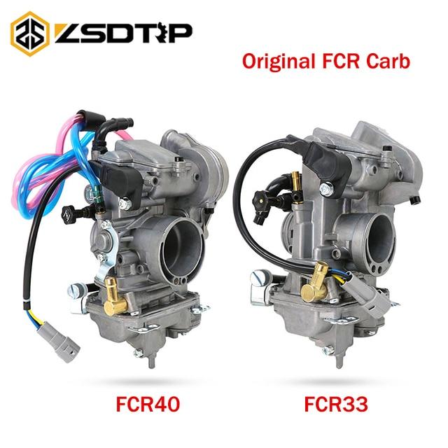 ZSDTRP Keihin FCR 33mm 38mm 40mm Original FCR33 FCR38 FCR40 Carburetor for  Honda CRF150R CRF250 CRF450 XR250