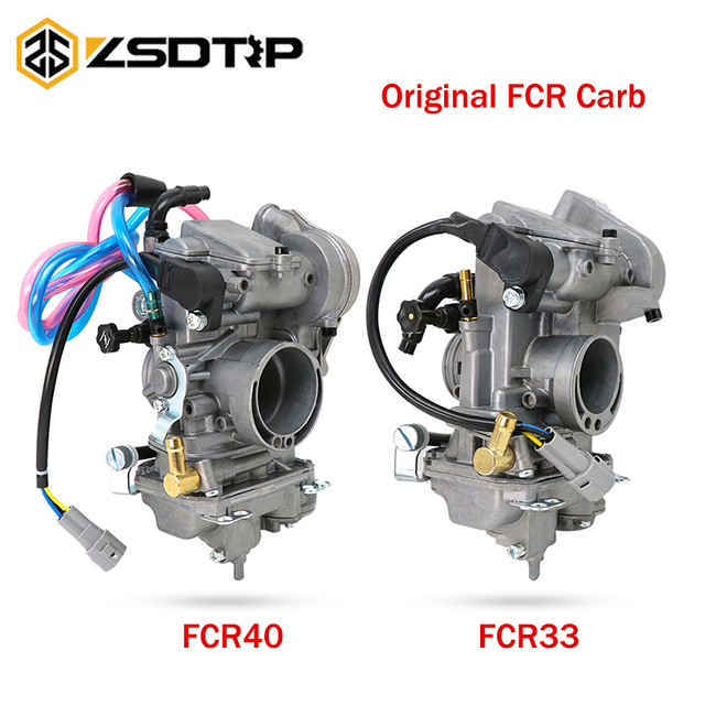 ZSDTRP Keihin FCR 33mm 38mm 40mm oryginalny FCR33 FCR38 FCR40 gaźnik do hondy CRF150R CRF250 CRF450 XR250