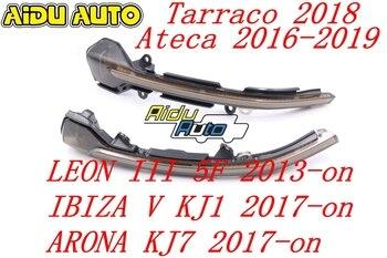 AIDUAUTO FOR Seat Leon 5F IBIZA VKJ1 ARONA KJ7 Dynamic Blinker LED Turn Signal Light Mirror Indicator Sequential