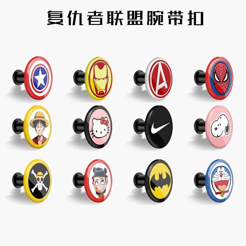Пряжка для xiaomi mi band 4, 3, 2, mi Band 4, 3, 2, 1, ремешок с узором, кнопка, браслет mi band 4, ограниченная серия, аксессуары для наручных ремней