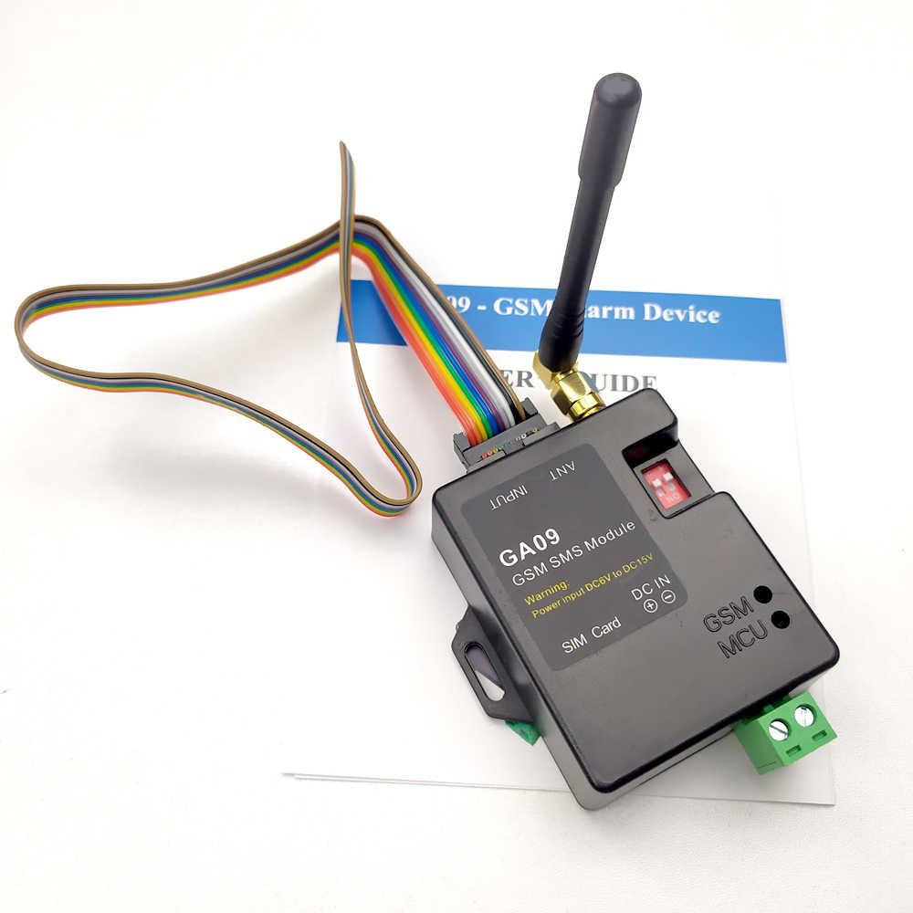 DC5V Mini 8 Canales Sistema de Alarma gsm de Seguridad para el hogar Compatible con Alarma SMS Alarma de Llamada telef/ónica Lazmin Sistema de Alarma SMS