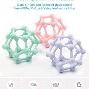 Тыры. Синтетический каннабиноид класса дибензопиранов HU новая-Стиль Детские Красочные Силиконовый Прорезыватель для зубов игрушка мяч Infantil детские жевательные игрушки-прорезыватели зубов игрушки мягкие Еда Класс Прорезыватель для зубов