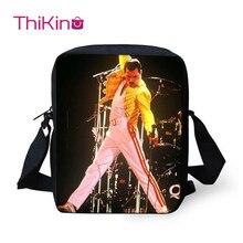 Thikin Rock The Queen Band Shoulder Messenger Bag Crossbody Phone for Boys Shopping Bags Mochila Infantil