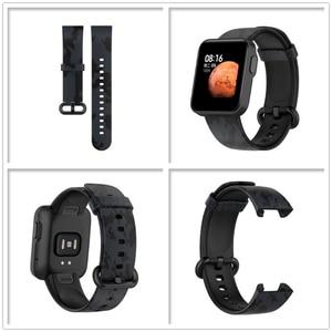 Image 4 - のためのxiaomi mi腕時計liteグローバル版の交換カラフルなリストバンドredmi腕時計mi腕時計lite sma