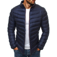 Mens down jacket New Winter parkas Down Coat Men Duck Jacket Coats Fashi onable stand Thin Warm White