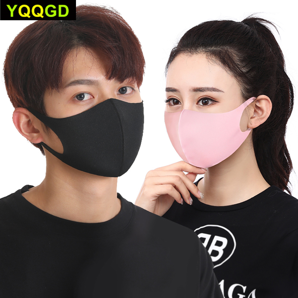 Image 4 - Pollution Mask Anti Air Dust and Smoke with Elastic Earloop Washable Mask Made For Men WomenMasks