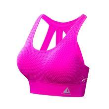 Women Sports Bra Tops High Impact for Fitness Yoga Running Pad Cropped Top Sportswear Tank Sports Push Up A6HC цена и фото