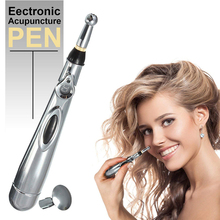 Новинка, электронная ручка для иглоукалывания, электрическая меридианская лазерная терапия, Массажная ручка, ручка меридиан, энергетическая ручка для облегчения боли, инструменты