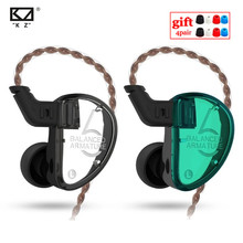 KZ AS06 3BA מאוזן אבזור באוזן אוזניות HIFI ריצה ספורט אוזניות Earplug אוזניות ZS10 BA10 ZSX לZST AS16 ZSN ZSX V90 VX