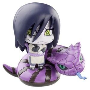 Image 4 - 6Pcs/Set Anime Naruto Action Figure Uzumaki Orochimaru Uchiha Sasuke Hatake Kakashi Mini Ninja PVC Collection Model Toys Dolls