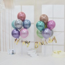 10-inch New Metal Balloon Happy Birthday Party Decorations Kids Wedding Decoration Balloons
