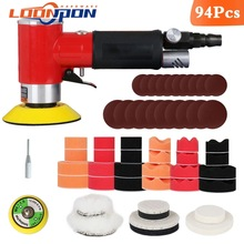 "New Air Sander Mini Pneumatic 2""/3"" Grinding Machine Set for Car Polishing High Speed"