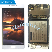 5.5 Black / White lcd For ZTE Nubia N2 NX575J LCD display assembly with touch screen digitizer free shipping
