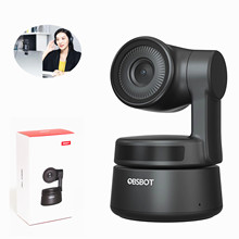 OBSBOT Tiny Action Camera AI tracking Webcam Full HD 1080p 30fps support Digital zoom for Video Recording Streaming Live