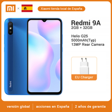 Xiaomi Redmi 9A 32GB GSM/WCDMA/LTE Octa Core Face Recognition 13MP New Mobile-Phone Global-Version