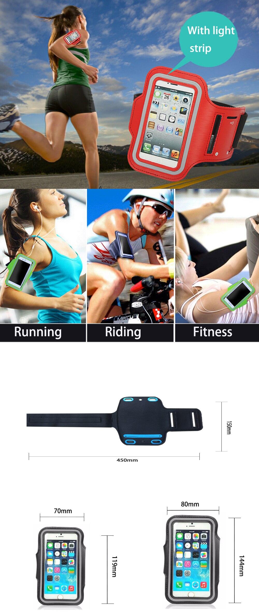 Sports Arm Band Gym Taille Pochette coureurs Bum Sac /& Jogging Support Téléphone