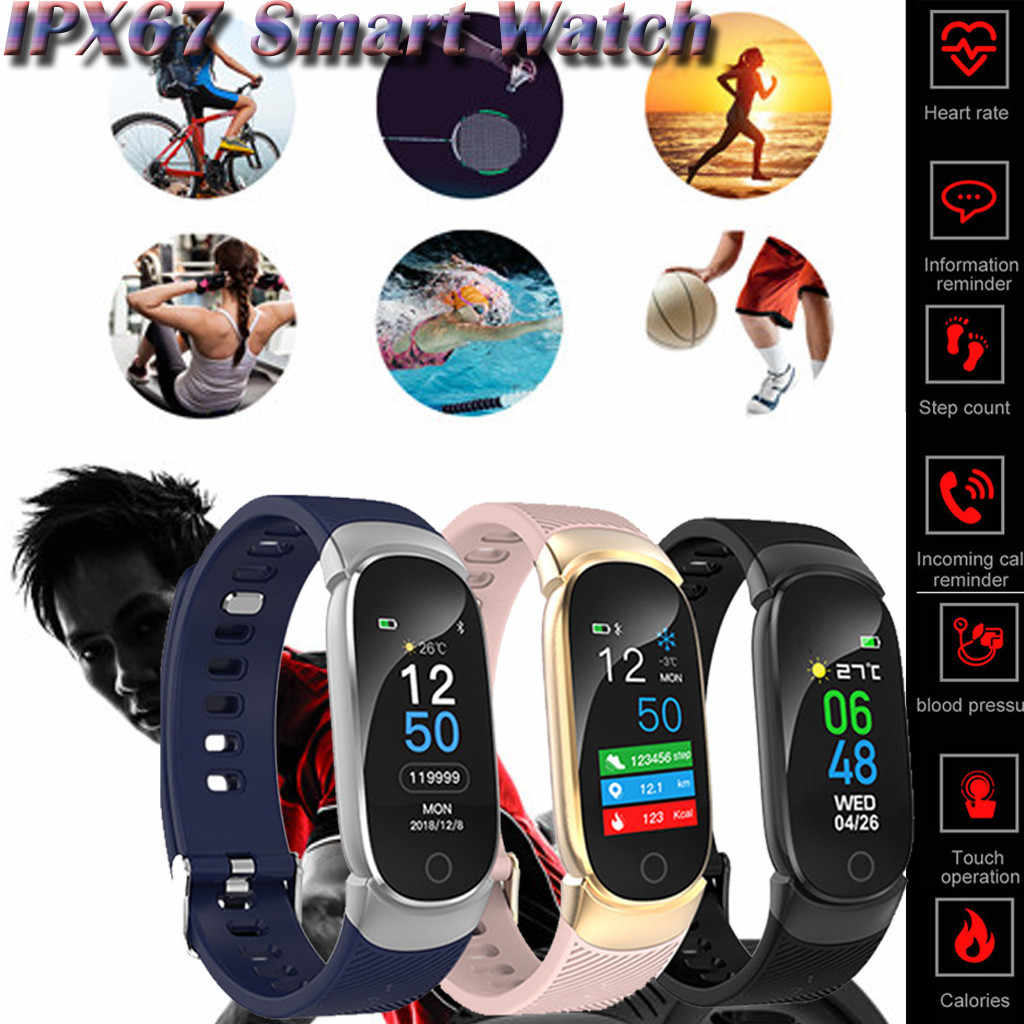 HIPERDEAL QW16  Smart Watch Sports Fitness Activity Heart Rate Tracker Blood Pressure Watch Jy30