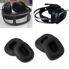 Replace Eapads Earmuffs Cushion for Razer Tiamat 7.1/2.2 Over Surround Sound PC Gaming Headphone Headsets цена и фото