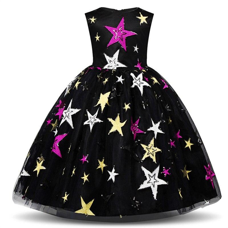 H47cff53d382846c89c730390cc527eefK Girls Dress Elegant New Year Princess Children Party Dress Wedding Gown Kids Dresses for Girls Birthday Party Dress Vestido Wear