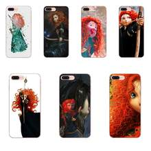 Brave Prinzessin Film Merida Archer Diy Bunte Druck Tpu Für Apple iPhone 11 Pro X XS Max XR 4 4S 5 5C 5S SE 6 6S 7 8 Plus(China)