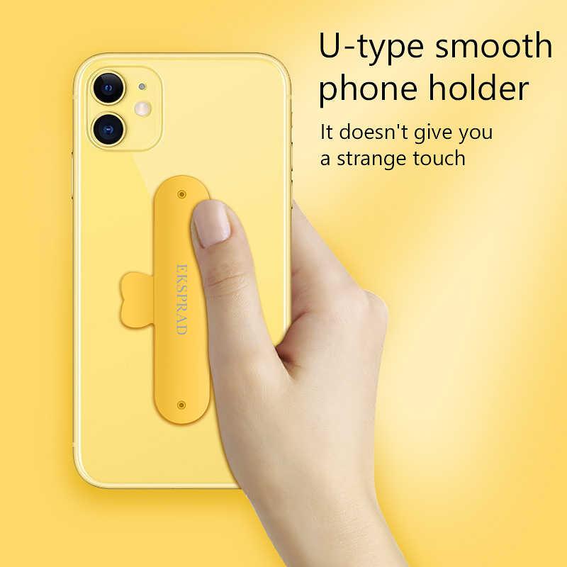 Soporte para teléfono móvil soporte en U Mini soporte Universal para teléfono soporte de silicona para iPhone 6 7 8 Plus Samsung Huawei Xiaomi