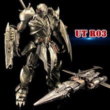 Transformateur jouet Unique UT R03 R 03, en alliage de film guerrier, figurine daction, Robot, jouets, cadeaux