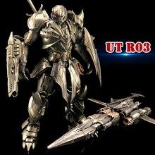 ของเล่นที่ไม่ซ้ำกันTransformaton UT R03 R 03 อัศวินนักรบAlloy Action FIGUREหุ่นยนต์ของเล่นของขวัญ